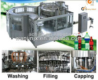 Monoblock Carbonated Drinks Filling machineryry soft drink filling machinery platic bottle monoblock CO2 drink