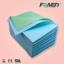 disposable dental bib roll for dental clinic