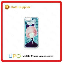 [UPO] 3D Liquid Star Sand TPU Case Glitter Quicksand Crystal Clear Mobile Phone Case For iPhone 6 Covers