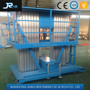 hydraulic electric ladder lift