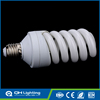 Full spiral tri- color power 1625lm 20w fluorescent energy saving light