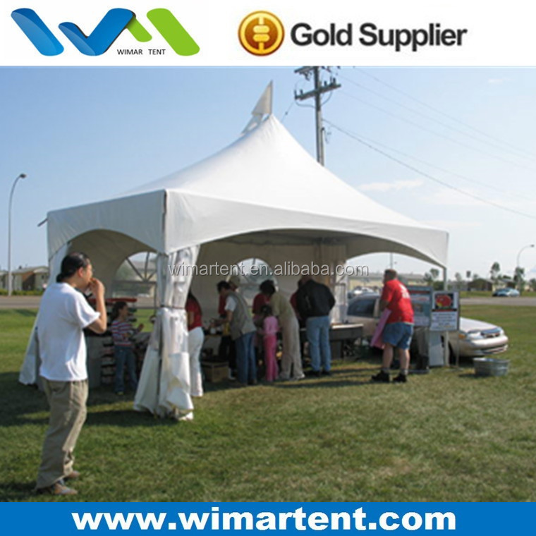 Hot Sale 4x4m High Peak Party Canopy Tent for Garden BBQ