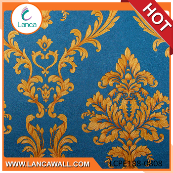 sticker pvc scrubbable decorative pvc wallpaper