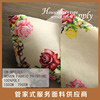 100%printed polyester fabric printing textile small flower print fabric