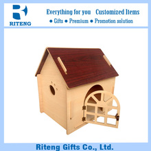 China made small dog house wood