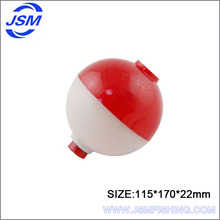 JSM Wholesale high quality round plastic fishing float bobbers for fishing