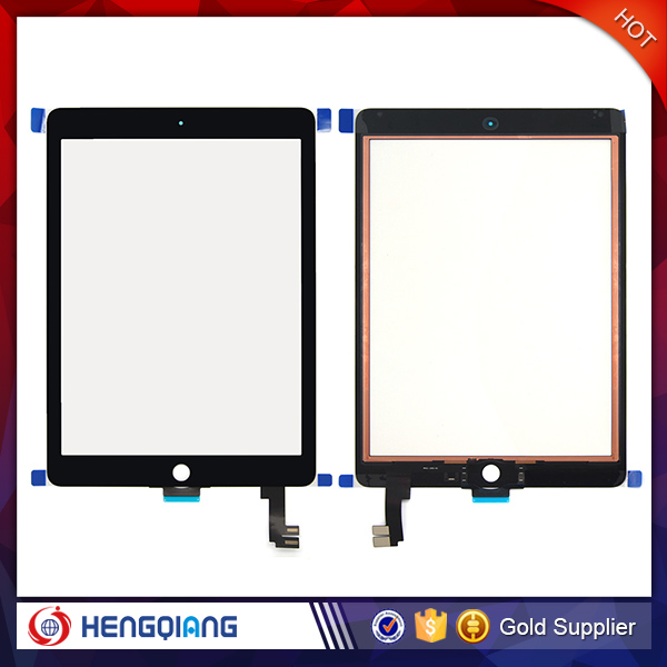 Black Glass Touch Screen Digitizer Replacement for iPad 6 Air 2 A1566 A1567