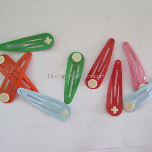 High Quality Colorful Metal Kids Hair Snap Clip For Wholesale With Cheap Price