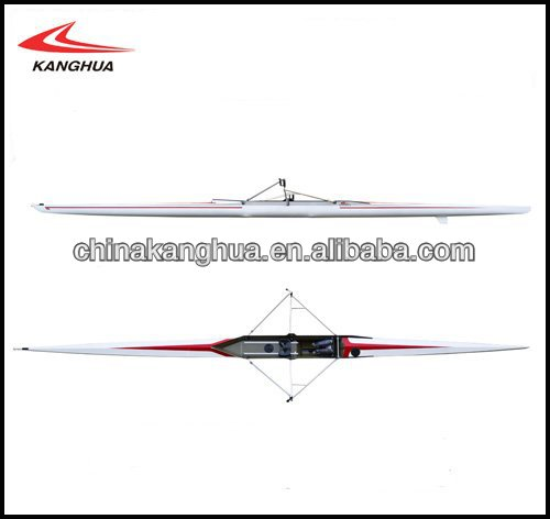 fiberglass racing rowing boat/rowing shell 1X