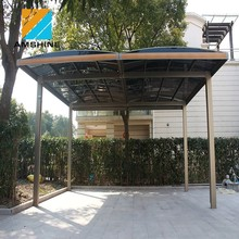 large outdoor aluminum carport metal car canopy design