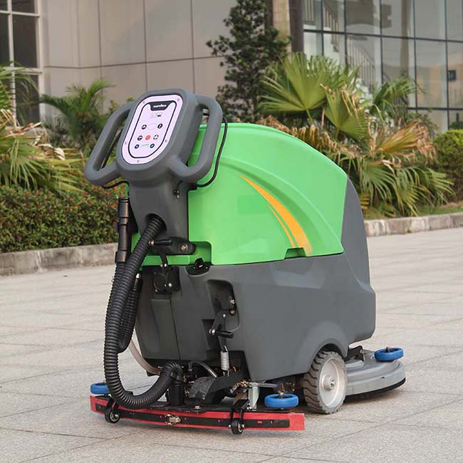 Hot export rechargeable parking lot sweeper for sale DQX5/X5A