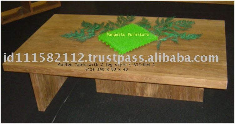 Panama Wooden Coffee Table