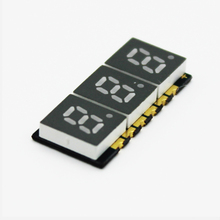 Small seven Segment 3 digits 0.2 inch 7 segment smd led display