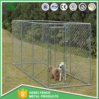 wholesale Large outdoor wire dog kennels large dog cage