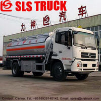 Best selling Dongfeng 8x2 4 axle 5000L refueling truck