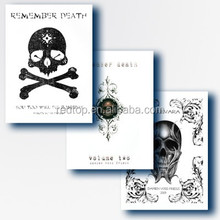 brand new Skulls Skeleton Design Tattoo Book