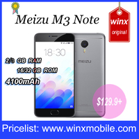 Original Meizu m3 note dual sim card 4G 3GB RAM 32GB rom 64bit Octa Core smart phone