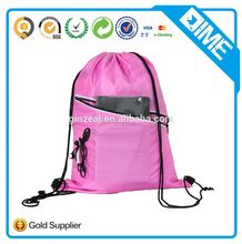 Wholesale Foldable Custom Soccer Drawstring Bag Mesh Drawstring Backpack