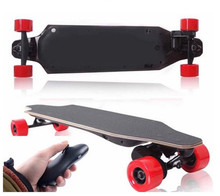 Smartek Dual Drive 4 Wheels Electric Wooden Skateboard with Remote Control Portable Longboard Gyroscope 4 Wheel Eletric Seg Way