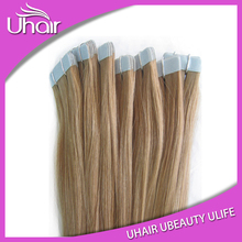 Top Quality Full cuticles 100% european hair tape hair extension