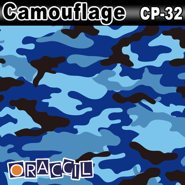 High Quality 1.52x30m adhesive Vinyl Vehicle Wrapping Film Camouflage Car Foil