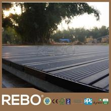 Deep Carbonized Outdoor Strand Woven Bamboo Decking MOSO DECKING