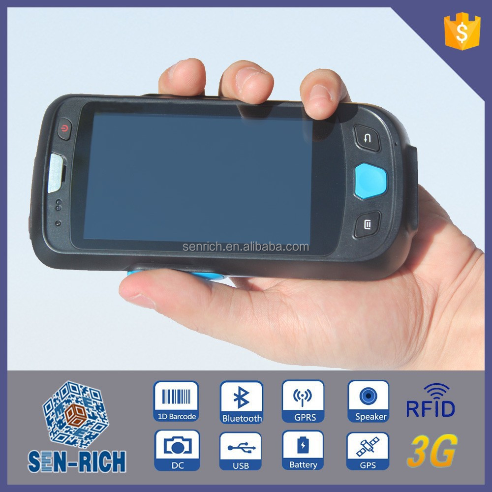 Handheld PDA with Android OS Wifi GPS Barcode Scanner Camera