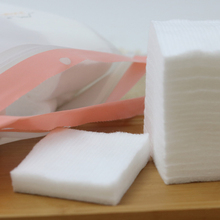 double side-sealed 100% pure cotton pads,multipurpose cotton pads for facial care