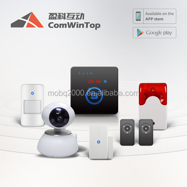 W20 gsm smart Android/IOS APP control security wireless home alarm system