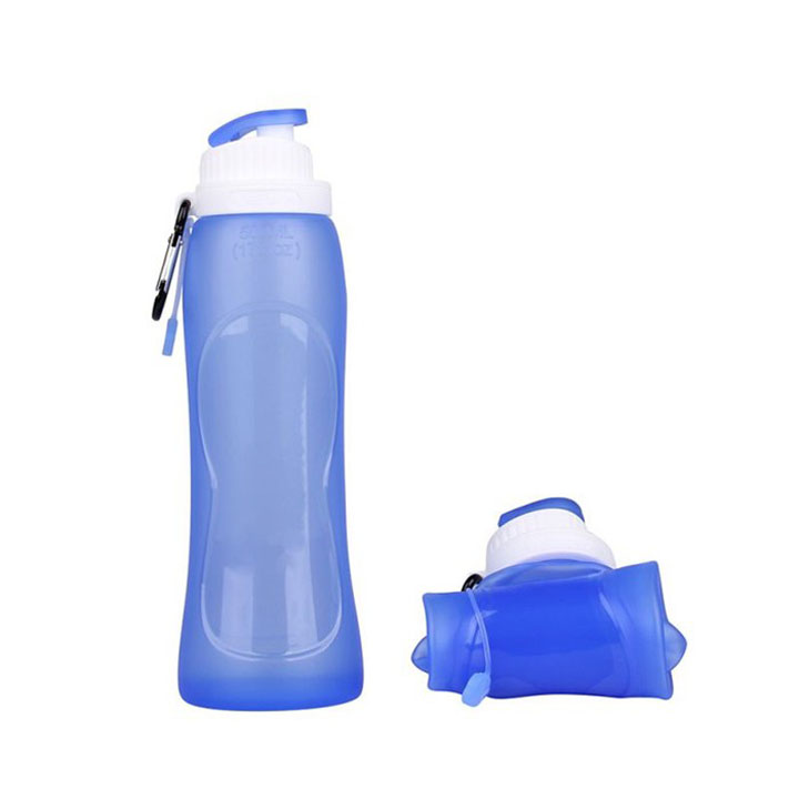 Wholesale custom Silicone Foldable Water sports Bottle Manufacturers