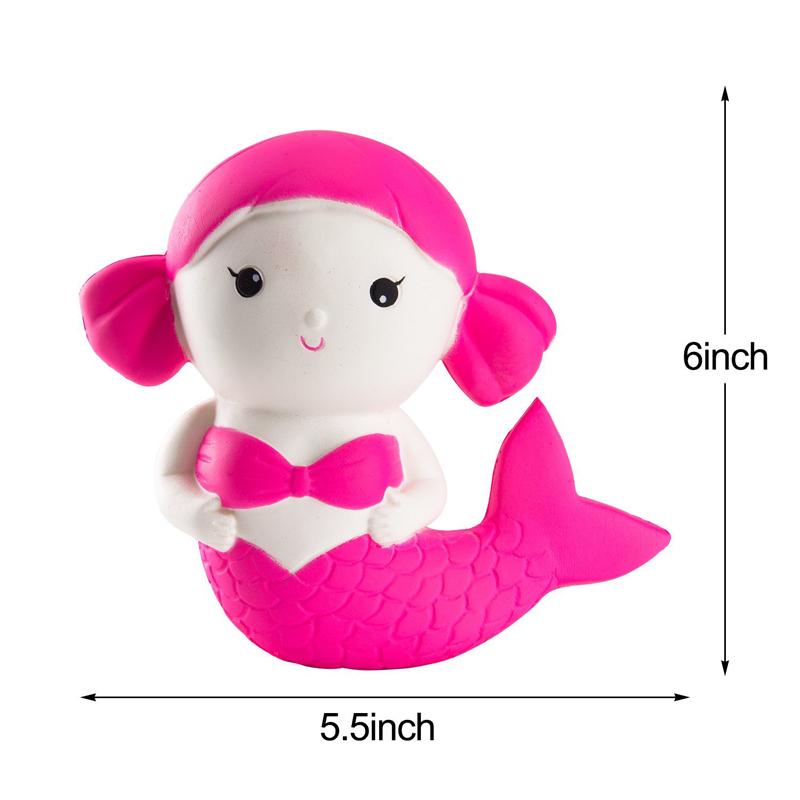super slow high quality squishy mermaid soft animal squishy in stock