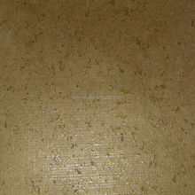 Environmental friendly soundproof natural cork wallpaper for hotels RQ-WP010