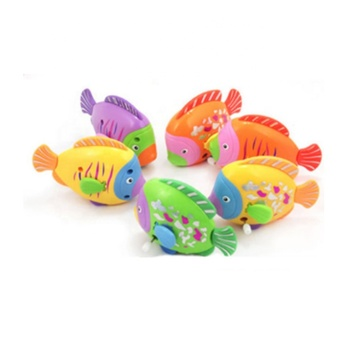 TOP QUALITY Trending Custom Cute Wind Up Fish Toy for Kids
