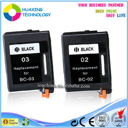 BX-3, BC-03 remanufactured ink cartridge for Canon pixma ink cartridge