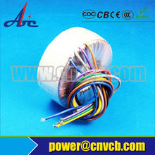 general Usage and single or double wound Coil Structure power transformer toroidal transformer
