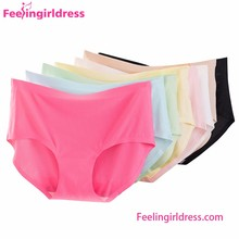 17 Colors Cotton Mesh Seamless Indian Women Sexy Panty Pictures
