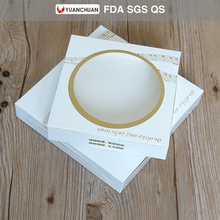 Food grade window pie box for packaging cake