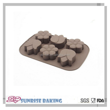 Wholesale flower shaped baking silicon cake mould silicone bakeware funny silicone cake mold