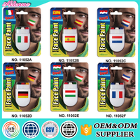 China Wholesale Sports Fans Oil Based Body Face Paint Kit