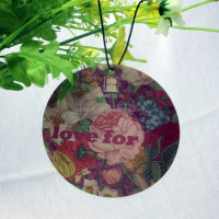 Suppliers for Paper Hanging Fragrance Car Perfume Air Freshener Card