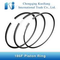 High-alloy cast iron 186F 86mm Diesel Engine Part Piston Ring
