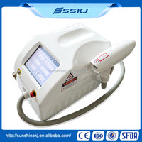 Top one portable dark spot removal machine nd yag laser (CE)