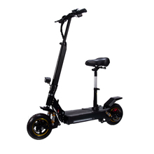 2018 New Explotion C Shape Shock Absorption 2000w Dual Motor Folding Electric Scooter