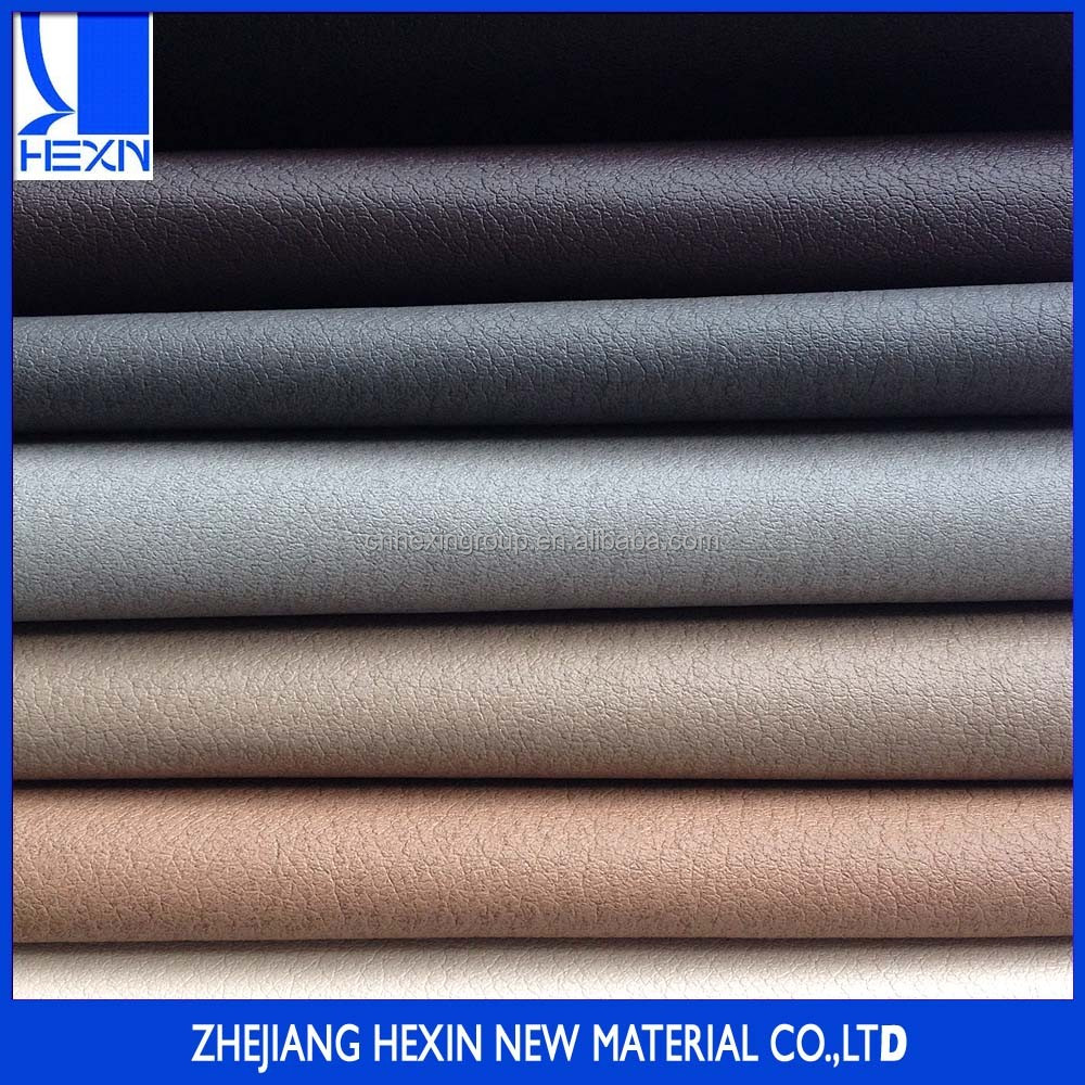 High quality 0.7MM pu synthetic pigskin sofa leather pig skin pu leather with perforated for shoe lining