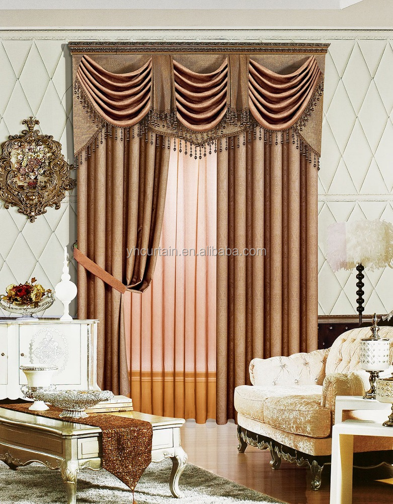 modern design islamic curtains
