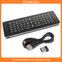Hot! mini Wireless keyboard Rii i13 Air Fly Mouse Keyboard for smart TV PC