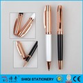 Couple metal gift pen twist style and pen with cap style