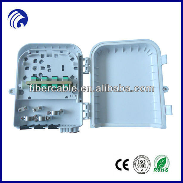 Supply ONT/ONU best price china manufacturer 8 core FTTH Fiber Optical ABS Distribution Terminal Box FTT-H208A