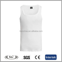 trendy best selling good price slim plain white casual weaing customized tank top