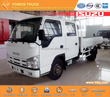 100P double cabins lorry truck double cab mini cargo truck lorry truck 4000kg